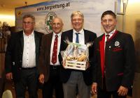 Bgm. Windbichler, LL Striednig, LH Dr. Kaiser, Präs. Hochstaffl (v.l.)
