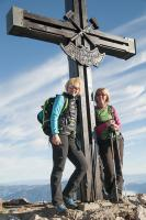Knappenkreuz am Gipfel